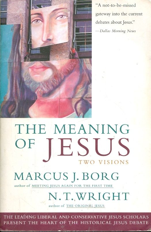 an analysis of jesuss way of teachings in meeting jesus again for the first time by marcus j borg Although i have my disagreements with him at any number of places, i have previously enjoyed his other popular books, meeting jesus again for the first time (1994), reading the bible again for the first time (2001), and the heart of christianity (2003.