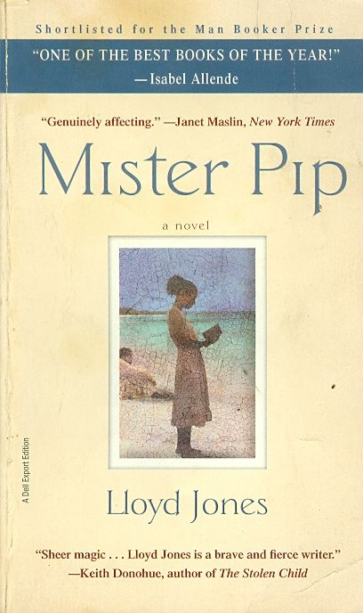 mister pip' by lloyd jones Lloyd jones is a 'mister pip' is an amazing book filled with all sides of life: the good, the bad, and the ugly there is family, friendship, trust, acts of the novel is written extremely well lloyd jones is a very talented and ingenious author the syntax used in 'mister pip' delivered the story and the tone.